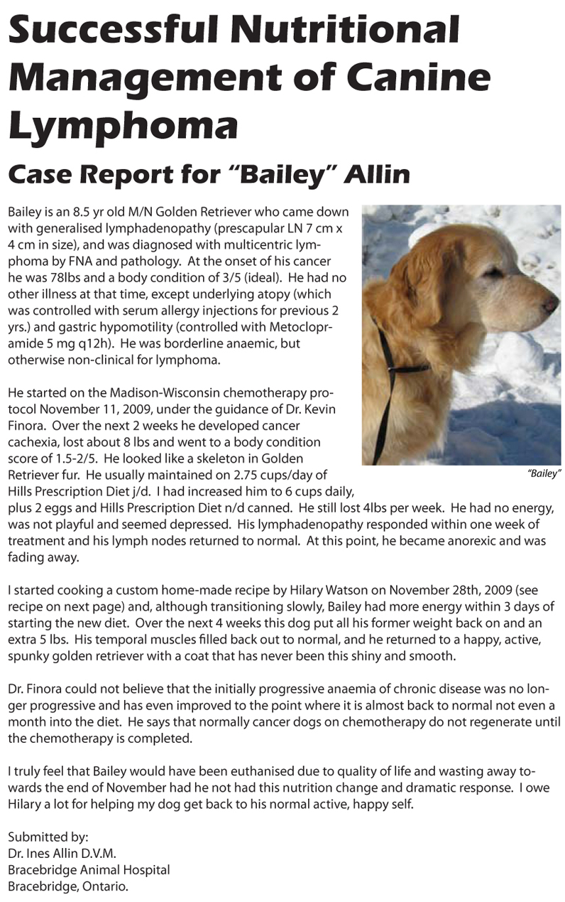 Bailey case report